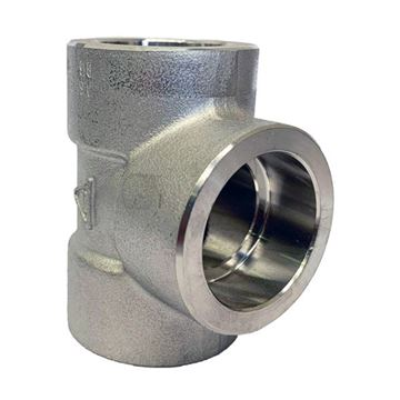 Picture of 50NB CL3000 SOCKETWELD EQUAL TEE 316/316L