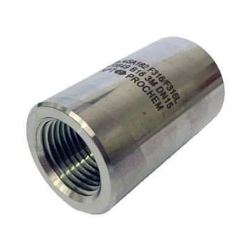 Picture of 10NPT CL3000 FULL COUPLING 316