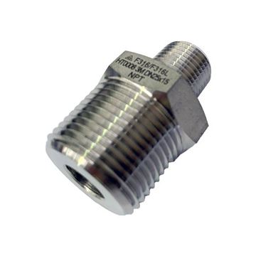 Picture of 20X10NPT CL3000 HEXAGON REDUCING NIPPLE 316