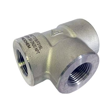 Picture of 25NPT CL3000 FEMALE TEE 316