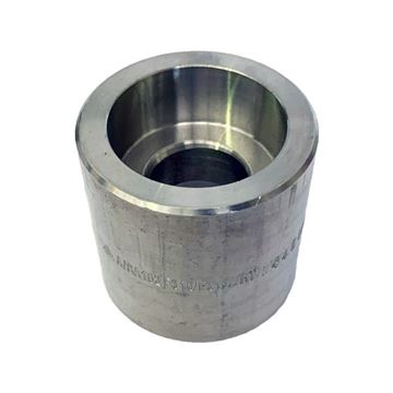 Picture of 50X40NB CL3000 SOCKETWELD REDUCING COUPLING 316/316L