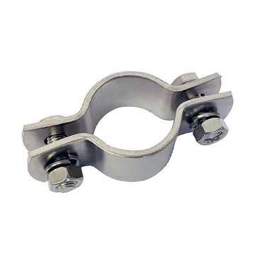 Picture of 25.4 OD DOUBLE BOLT PLAIN CLAMP 304