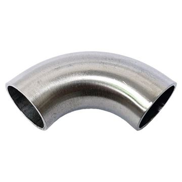 Picture of 31.8 OD X 1.6WT 90D 5D RADIUS POLISHED ELBOW 316