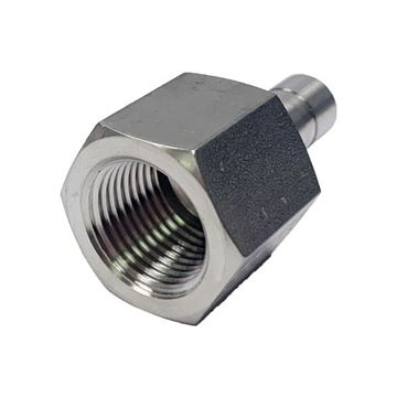 Picture of 12.7MM OD X 8BSPT ADAPTER FEMALE GYROLOK 316