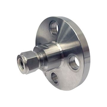 Picture of HOKE INTEGRAL FLANGE CONNECTOR 12.7OD GYROLOK X DN20 CL150 RF FLANGE 6MO UNS S31254