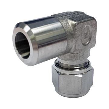 Picture of 12.7MM OD X 15NB 90D ELBOW BUTTWELD GYROLOK 316