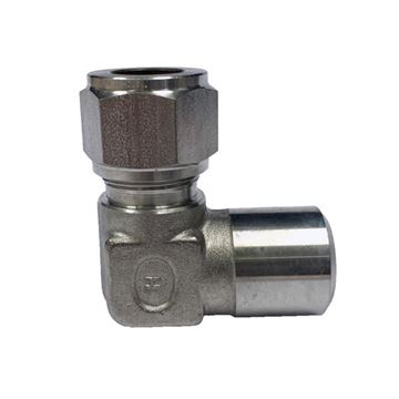 Picture of 19.1MM OD X 20NB 90D ELBOW BUTTWELD GYROLOK 316