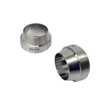 Picture of 12.7 MM OD FERRULE FRONT GYROLOK DX3 DUPLEX UNS S31803