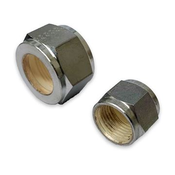 Picture of 9.5MM OD NUT COMPRESSION GYROLOK 316