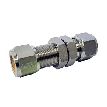 Picture of 25.4MM OD BULKHEAD UNION GYROLOK 316