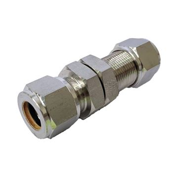 Picture of 6.3MM OD BULKHEAD UNION GYROLOK 316