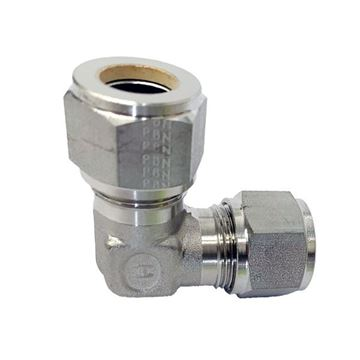 Picture of 12.7MM OD 90D ELBOW UNION GYROLOK 6MO UNS S31254