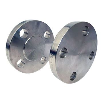Picture of 300NB CL150 R/F BLIND FLANGE ASTM A182 F316L