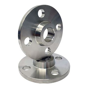 Picture of 25NB CL150 R/F BOSS FLANGE SCREWED 25NPT ASTM A182 F316L ****EUROPEAN STOCK****