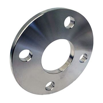Picture of 100NB CL150 R/F BLIND FLANGE BORED TO SUIT 101.6OD TUBE ASTM A182 F316L