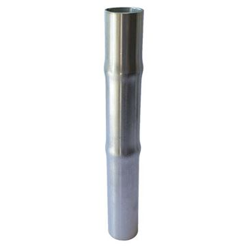 Picture of 76.2 DOUBLE HOSETAIL PLAIN 200mm LONG 304