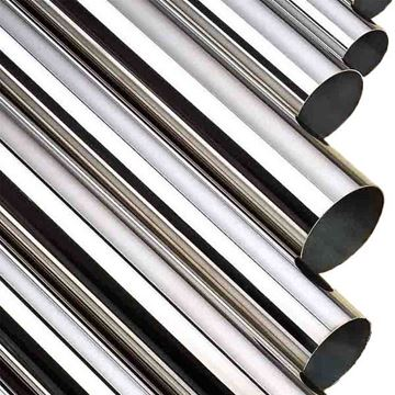 Picture of 50.8 OD X 1.6WT AS WELDED POLISHED 600 GRIT TUBE ASTM A554 MT-316 (6m lengths)