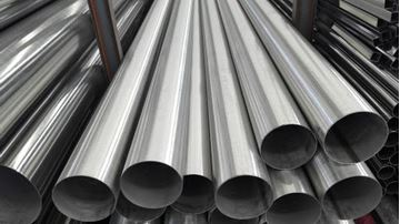 Picture of 152.4 OD X 1.6WT COLD WORKED POLISHED TUBE 316L to AS1528.1 320 GRIT (6m lengths)