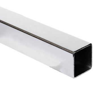 Picture of 38.1 X 38.1 X 3.0WT SQUARE TUBE 316 (6m lengths)