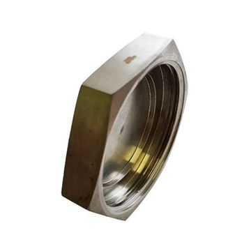 Picture of 76.2 BSM BLANK HEXAGON NUT CF8M