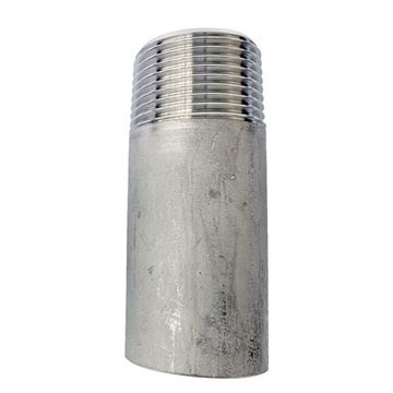 Picture of 80X80L SCH40S PIPE NIPPLE TOE/NPT ASTM A403 WP316-W