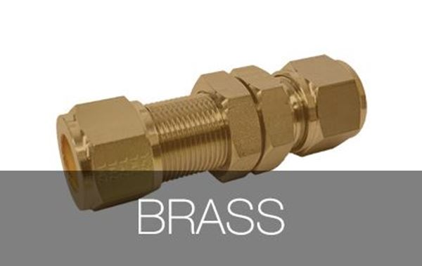 Picture for category Bulkhead Union Brass