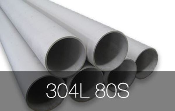Picture for category Pipe Seamless 304L 80S