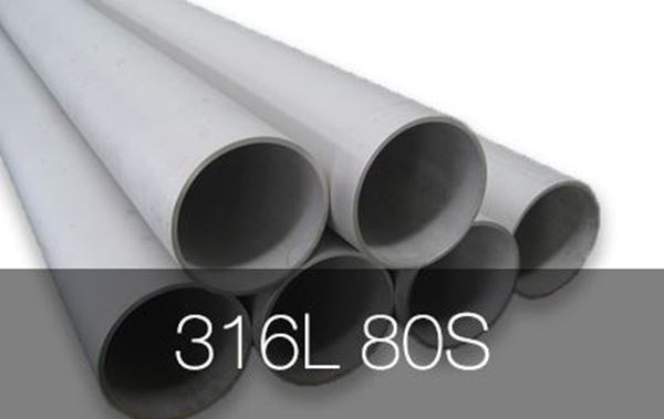 Picture for category Pipe Seamless 316L 80S