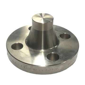 Picture of 25NB CL1500 R/H WELDNECK FLANGE SOLID BORE ASTM A182 F316L ****EUROPEAN STOCK****