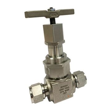 Picture of 12.7 OD TUBE 4000PSI NEEDLE VALVE UNION BONNET 316 GRAPHOIL PACKING