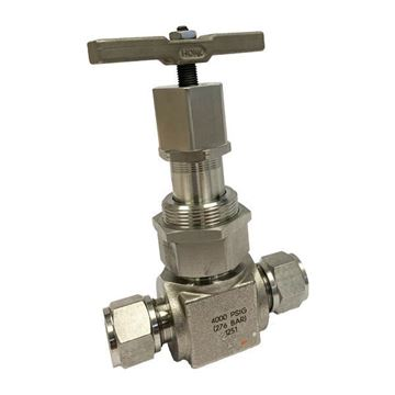 Picture of 9.5 OD TUBE 4000PSI NEEDLE VALVE UNION BONNET 316 GRAPHOIL PACKING