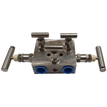 Picture of 15NPT FXF 6000PSI 5-VALVE REMOTE DP NG MANIFOLD TEFLON PACK HARD SEAT ALL 316 AGCO