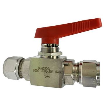 Picture of 12.7 OD TUBE 3000PSI BALL VALVE TFE SEATS 6MO UNS S31254 HOKE