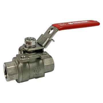 Picture of 20NPT 2-PIECE FULL BORE BALL VALVE 2000WOG CF8M