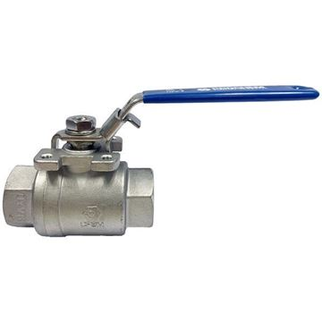 Picture of G8 BSP 2-PIECE FULL BORE BALL VALVE 1000WOG CF8M