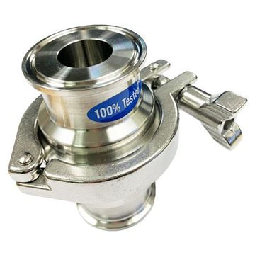 Picture of 38.1 NON RETURN VALVE 316 CLAMP TYPE C/W TRI-CLAMP ENDS