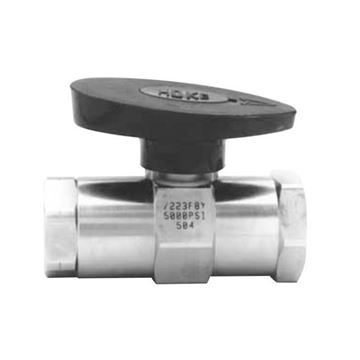 Picture of 15NPT FEMALE 5000PSI BALL VALVE BAR STOCK 316 ROTOBALL LOW PROFILE
