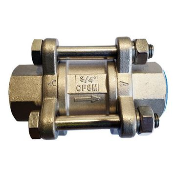 Picture of Rc20 BSP SPRING LOADED CHECK VALVE 316