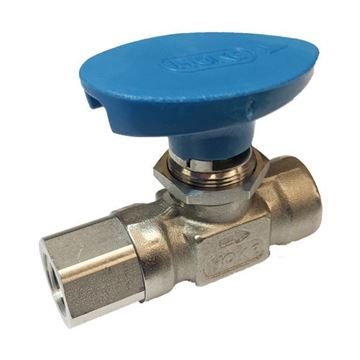 Picture of 8NPT FEMALE 2000PSI BALL VALVE FORGED BODY 316 FLOMITE 218DEG C SERVICE