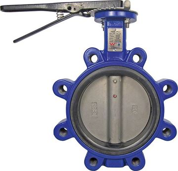 Picture of 150 TE WAFER BFLY VALVE FBE DI BODY S/S STEM & DISC EPDM SR PNEUMATIC ACTUATOR WATERMARK