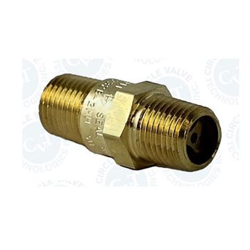 Picture of 8NPT MALE 800PSI CHECK VALVE CIRCLE SEAL BUNA-N BRASS