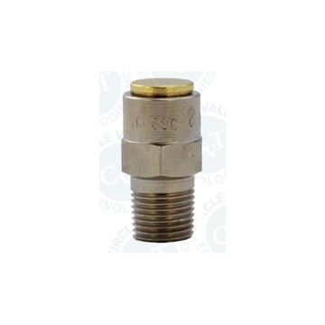 Picture of 6NPT ADJUSTABLE RELIEF VALVE POPOFF 20PSI CRACK BRASS VITON O-RING CIRCLE SEAL