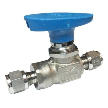 Picture of 6.3 OD TUBE 1500PSI BALL VALVE FORGED BODY 316 ULTRAMITE