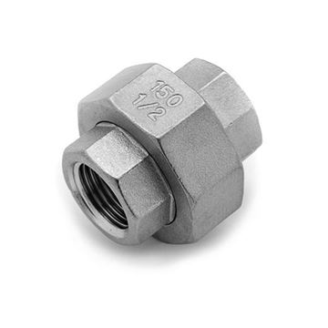 Picture of Rc65 CL150 BSP FEMALE METAL SEAL UNION 316