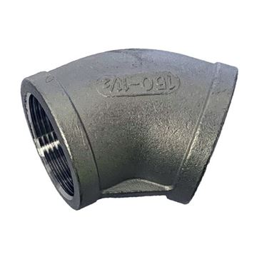 Picture of Rc20 CL150 BSP 45D FEMALE ELBOW CF8M