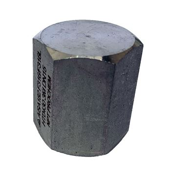 Picture of 25NPT CL3000 HEXAGON CAP 316