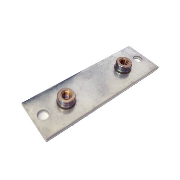 Picture of 19.1 OD SINGLE CLAMP BASE PLATE ELONGATED ALL 316 HARDWARE