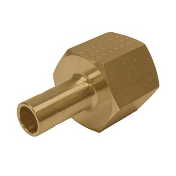 Picture of 9.5MM OD X 6NPT ADAPTER FEMALE GYROLOK BRASS