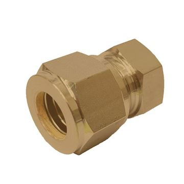 Picture of 12.7MM OD TUBE CAP GYROLOK BRASS