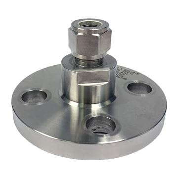 Picture of HOKE INTEGRAL FLANGE CONNECTOR 12.7OD GYROLOK X DN25 CL1500 RF FLANGE 6MO UNS S31254